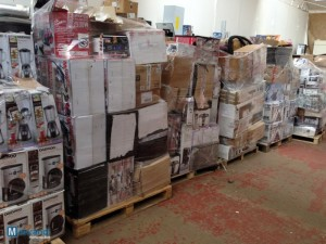 home appliances job lot pallets