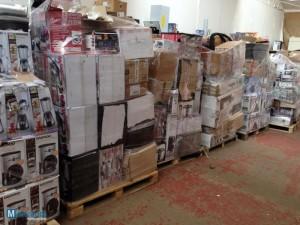 home appliances job lot pallets