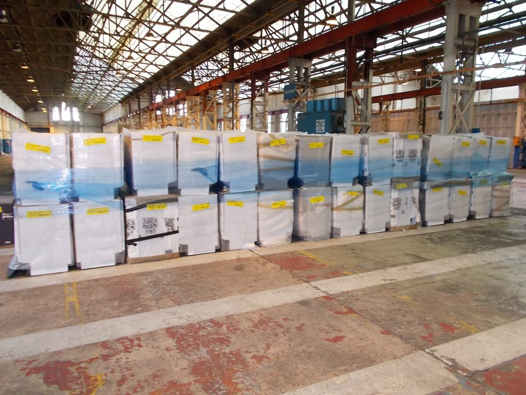 BEKO dishwashers pallets