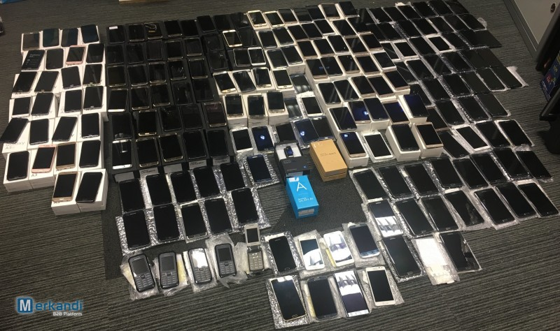 Samsung graded smartphones lot