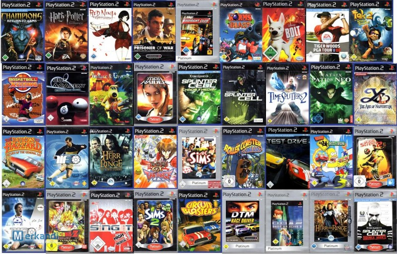 wholesale Playstation 2 games bankrupt stock