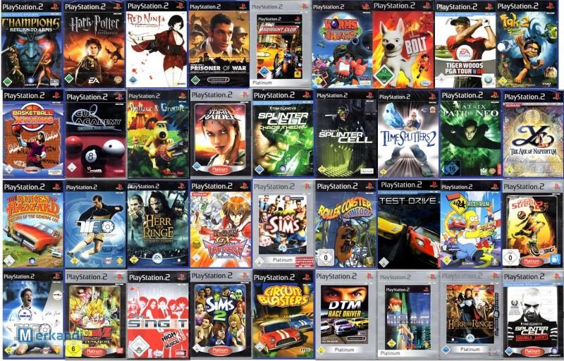wholesale Playstation 2 games bankrupt stock