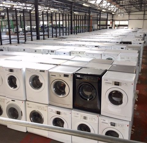 Beko white goods refurbished stock