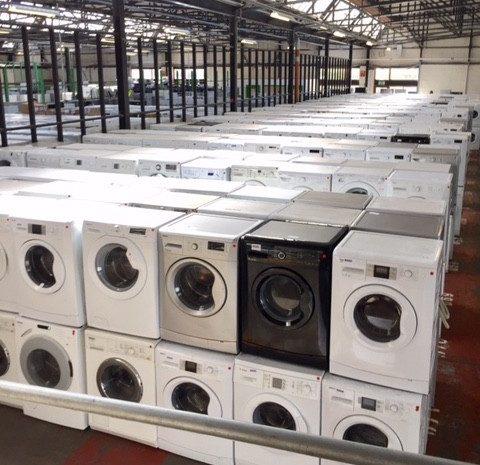 Beko white goods refurbished stock