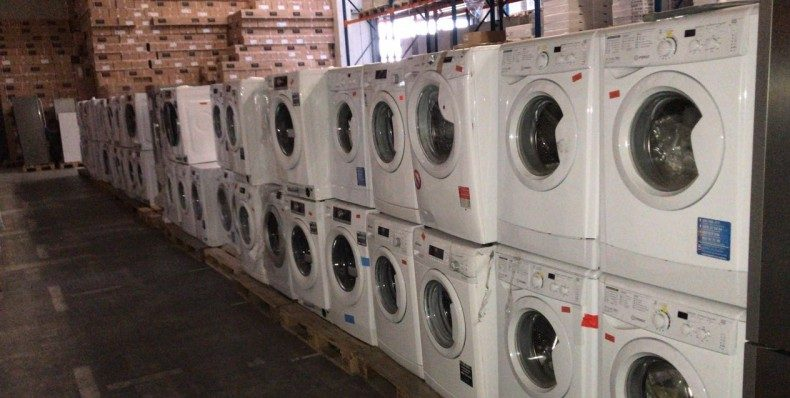 Wholesale washing machines in Germany 50.00 EUR / piece