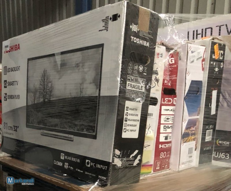 Used flat screen TV wholesale pallets