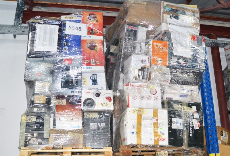wholesale electronics pallets